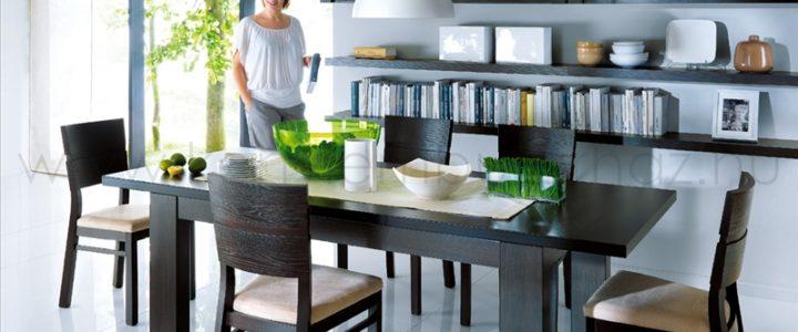 A modern nappali bútor belakja a teret!