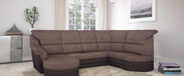 U alakú ülőgarnitúra többféle stílusban.
