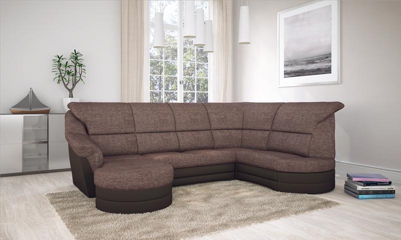 Komfort u alakú ülőgarnitúra.