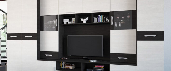 A nappali szekrénysor otthona gerincét adhatja!
