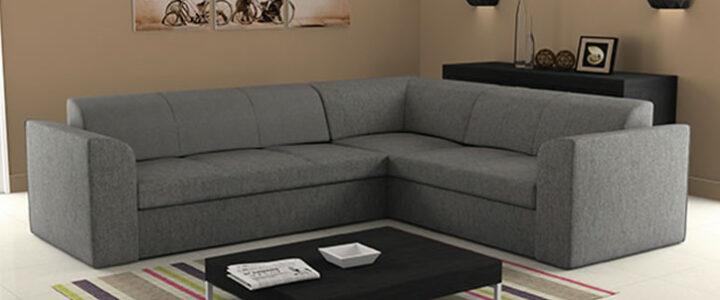 Az L alakú kanapé esztétikus és praktikus döntés, egyben!