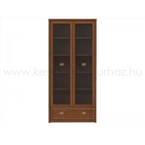 Bolden vitrines szekrény REG2W1S90