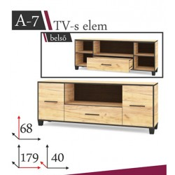 Atlas A-7 tv-s szekrény