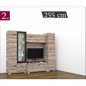 Messina sor led világítással 255 cm