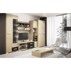 Oslo modern szekrénysor led világítással